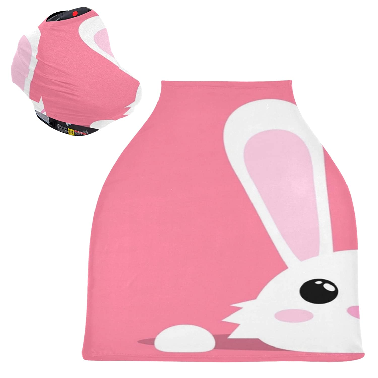 Car Sales Seat Shopping Cart Cover Rabbit C Nursing Stretchy Face A surprise price is realized Cute