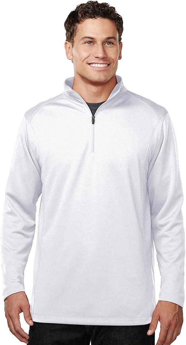 Tri-Mountain Performance 1/4-Zip Pullover Moisture Wicking Shirt - K628 Clementon