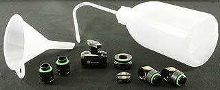 Bitspower Fill/Drain starter kit 哑光 黑色