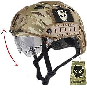 Emerson Casco rápido táctico de Paintball del ejército Militar Tipo PJ con Gafas MC