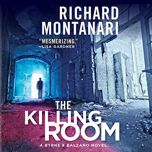 The Killing Room audiobook cover art