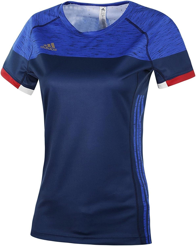 Adidas Damen FFHB Frankreich Flügelärmel Flügelärmel Flügelärmel Trikot B01ETDXU0K  Verpackungsvielfalt d69d74
