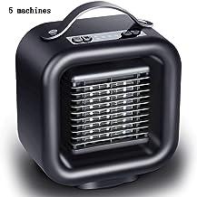 JFSKD Calentador eléctrico Calentadores de Escritorio para el hogar Calentadores de pie de Dormitorio Mini Ventilador Caliente y frío Calentador eléctrico pequeño para Oficina en casa Us