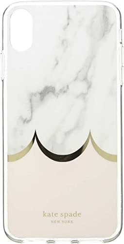 Marble Scallop Phone Case for iPhone XS Max