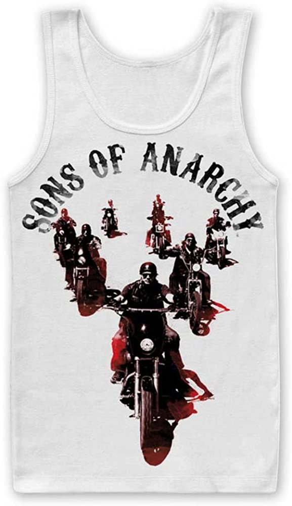 Sons of Anarchy Officially Licensed Merchandise Motorcycle Gang Tank Top Vest