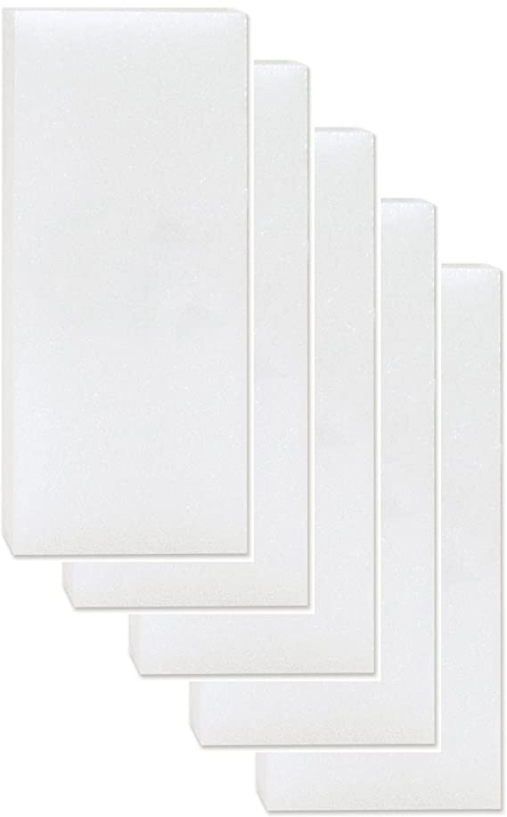 Foam White Sheet Crafts 6 Pack for Modeling, Styrofoam Carving Blocks Pack For sculpting, Floral, model-making, crafting art supplies (2
