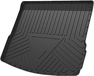 Cqlights Macan Cargo Liner for Porsche Macan 2015-2020 Trunk Liner Tray Heavy Duty Rubber Rear Cargo Area Mat Waterproof Protector Floor Mat Black