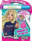 Bendon 74732 Barbie Imagine Ink Magic Ink Pictures,Multicolor
