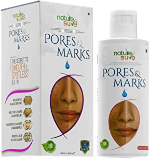 Nature SureTM Pores and Marks Oil - 100ml - for enlarged skin pores, stretch marks and fine lines