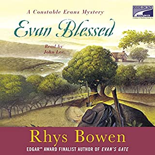 Evan Blessed audiobook cover art