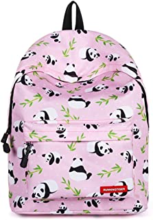 Lightweight Cute Pink High School College Backpack for Girls Fashion Backpack Women Back to School