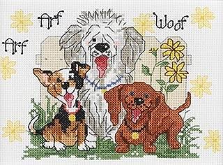 dog counted cross stitch kits