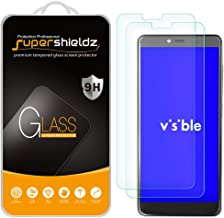 (2 Pack) Supershieldz for ZTE Visible R2 Tempered Glass Screen Protector, Anti Scratch, Bubble Free