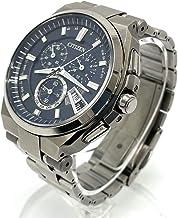 (シチズン)CITIZEN H610-T018050 アテッサ エコドライブ デイト クロノグラフ 腕時計 チタン メンズ 中古