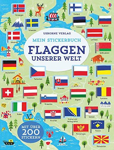 Mein Stickerbuch: Flaggen unserer Welt