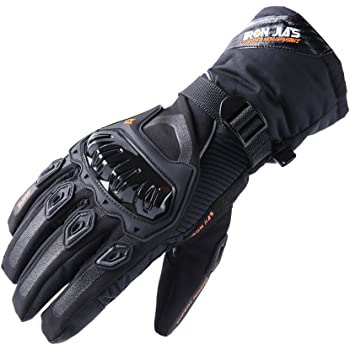 Seibertron SP2 SP-2 Mens Leather On-Road Motorcycle Gloves Genuine Leather Motocross Motobike Motorcycle Racing sports gloves Black, S