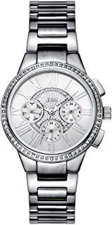 JBW Silver Stainless Silver dial Watch for Women J6328A
