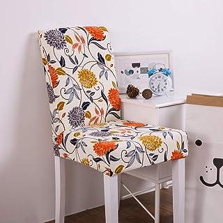 comprar comparacion ZXGQF Fundas para Sillas Comedor, Fundas decorativas para sillas de comedor, Elásticas y Lavables Fundas de la Silla para ...