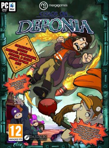 Chaos on Deponia (PC DVD) (輸入版)