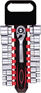 Schlagschrauberset 1//2 Zoll ST Drehmomenteinstellung Druckluft-Schrauberset mit Nussensatz Rechts-//Linkslaufumschaltung