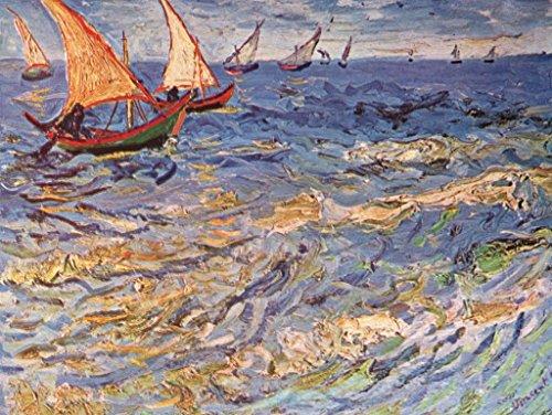 Lais Puzzle Vincent Willem Van Gogh - Il Mare di Saintes-Maries 1000 Pezzi