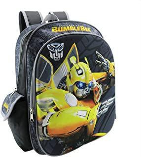 "Transformers Bumblebee 3D Backpack, 15"", Multi"