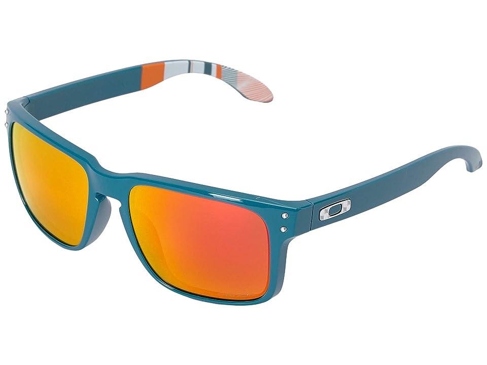 Oakley Holbrook (Balsam w/ Prizm Ruby) Sport Sunglasses