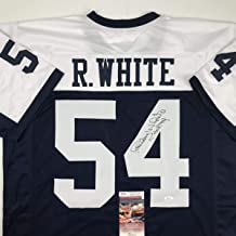 randy white signed jersey