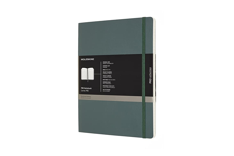 Moleskine PRO Notebook, Soft Cover, XL (7.5