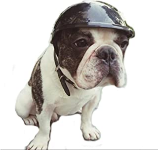 Stock Show Dog Helmet, 1Pc Funny Cool Pet Doggie Helmet Cap Hat for Sun Rain Protection Cats Puppy Cute Helmet Hat Costume for Small Medium Cats Dogs