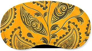 African Tribal Leaves Sleeping Mask - Sleeping Mask