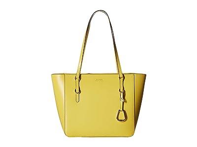 LAUREN Ralph Lauren Bennington Shopper Medium (Lemon Sorbet) Handbags