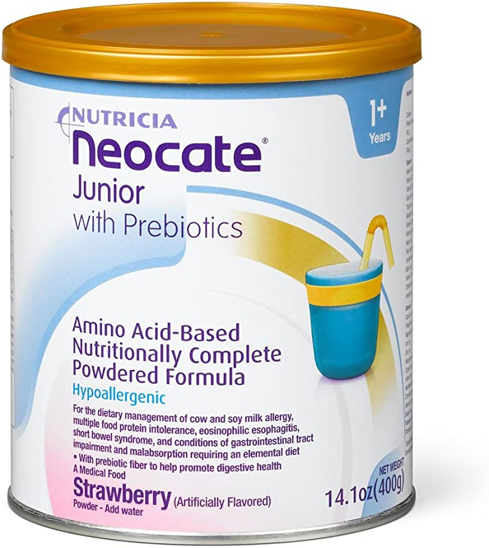 Neocate Junior With Prebiotics Strawberry 14 1 Oz 400 G Case Of 4 Cans