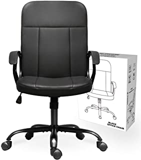 Best mid back leather desk chair Reviews