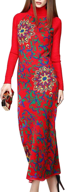 Ms. Lapel Satin Jacquard Slim Wool Dress