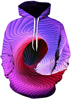 Unisex 3D Novelty Hoodies Graphic Patterns Print Hoodies Pullover Sweatshirt Pockets Couple Outfit Baseball Sweatshirt