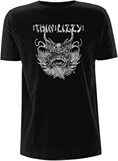 Thin Lizzy Chinatown Phil Lynott Rock Official Tee T-Shirt Mens Unisex