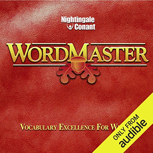 WordMaster                   Written by:                                                                                                                                 Denis E. Waitley                               Narrated by:                                                                                                                                 Denis E. Waitley                      Length: 10 hrs and 21 mins     1 rating     Overall 5.0
