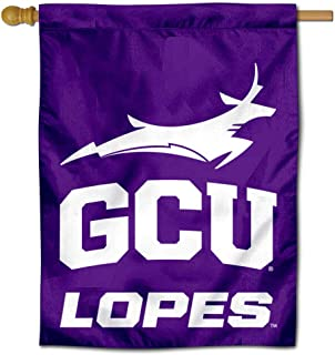 College Flags and Banners Co. Grand Canyon Lopes GCU Arched Logo Double Sided House Flag