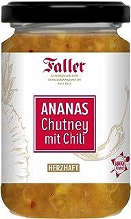 Brotaufstrich aus dem Schwarzwald Faller Ananas Chutney mit Chili 260 ml