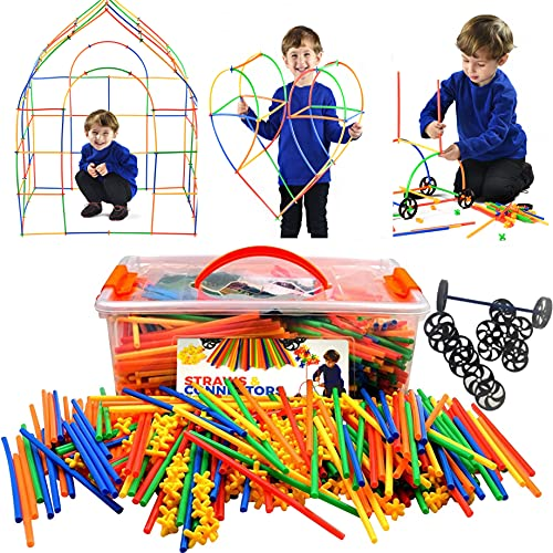 Playlearn LARGE 816 Piece Straws...