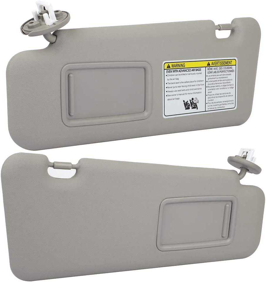 Limited time sale OCPTY Left Right sides Gray Sun with Ranking TOP12 200 Visor Fit for Sunroof