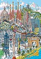 大人のジグソーパズル6000ピース都市建設ジグソーパズル知的に解凍された楽しい家族のゲーム大人の子供のための大きなジグソーパズルおもちゃの贈り物ゲーム