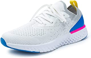 Shoes Female 2019 Spring New Wave Summer Breathable Sports Shoes Female Students Single Shoes Casual Shoes (Color : White, Size : 35)