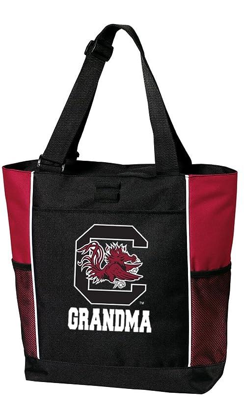 Broad Bay University of South Carolina Grandma Tote Bags Red South Carolina Grandma Totes Beach Travel