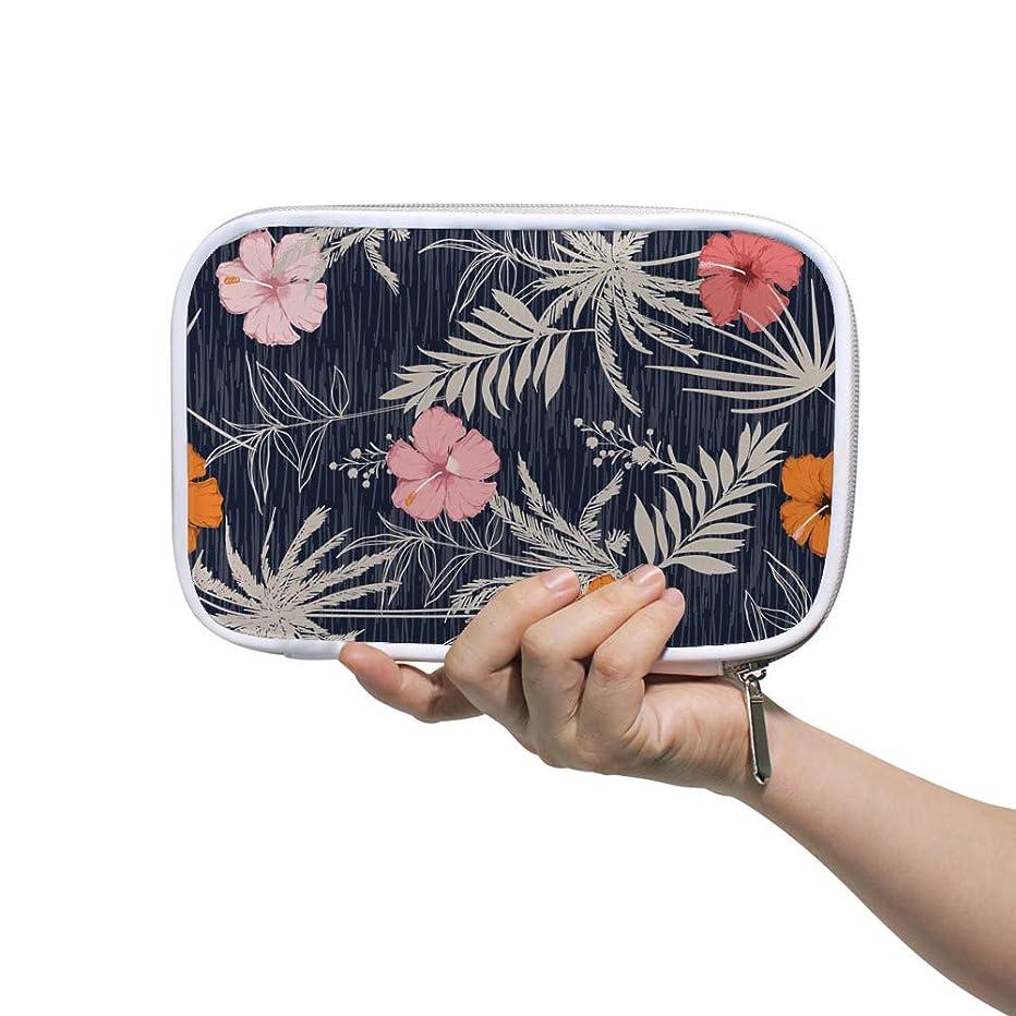 時々時々陰謀うねるZHIMI 化粧ポーチ メイクポーチ レディース コンパクト 防水 柔らかい おしゃれ 化粧品収納バッグ コスメケース 綺麗な 花柄 機能的 軽量 小物入れ 出張 海外旅行グッズ パスポートケースとしても適用