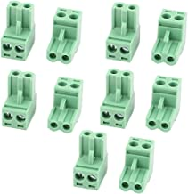 model: N1313IVVIII-8872OS Aexit 50 Unids 2 Pin Tornillo Bloque de Terminales Conector 3.5mm Panel de Pitch PCB Mount Green