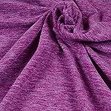 Qualitativ hochwertiger Fleece Stoff von Hilco in Fuchsia