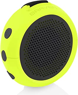 Braven B105XGG Wireless Portable Bluetooth Speaker With Action Mount, Green