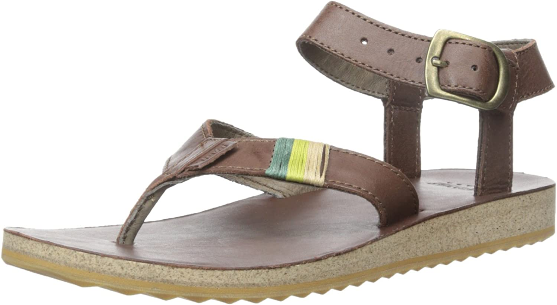 Teva Women's Original Sandal Leather Sandal Brown